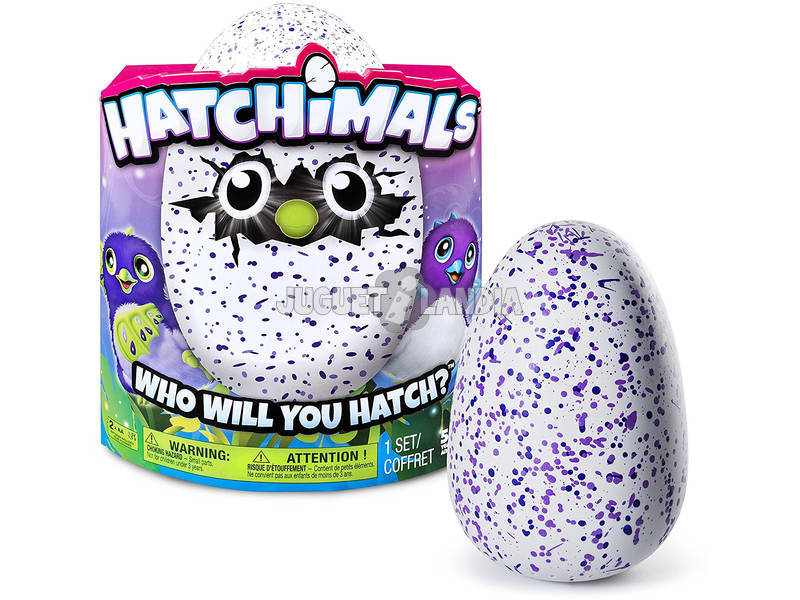 Hatchimals Dragon Morado