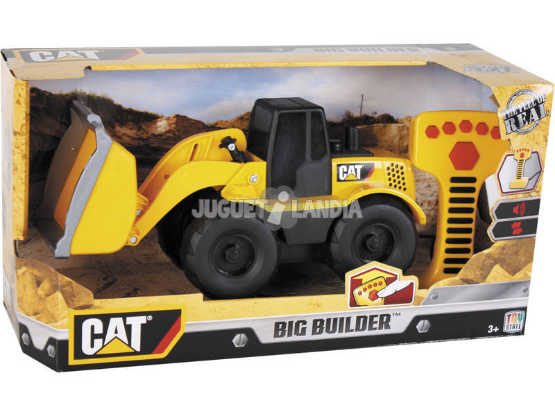 Big Builder Wheel Loader Remote Machine