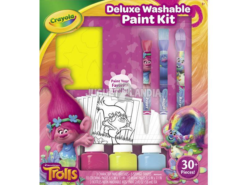 Trolls Kit Pintura Deluxe Lápis Colorido