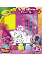 Trolls Kit Pintura Deluxe Crayola