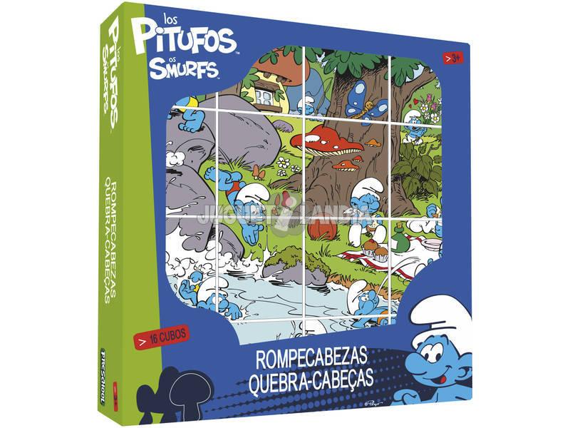 Smurfs puzzle cubes