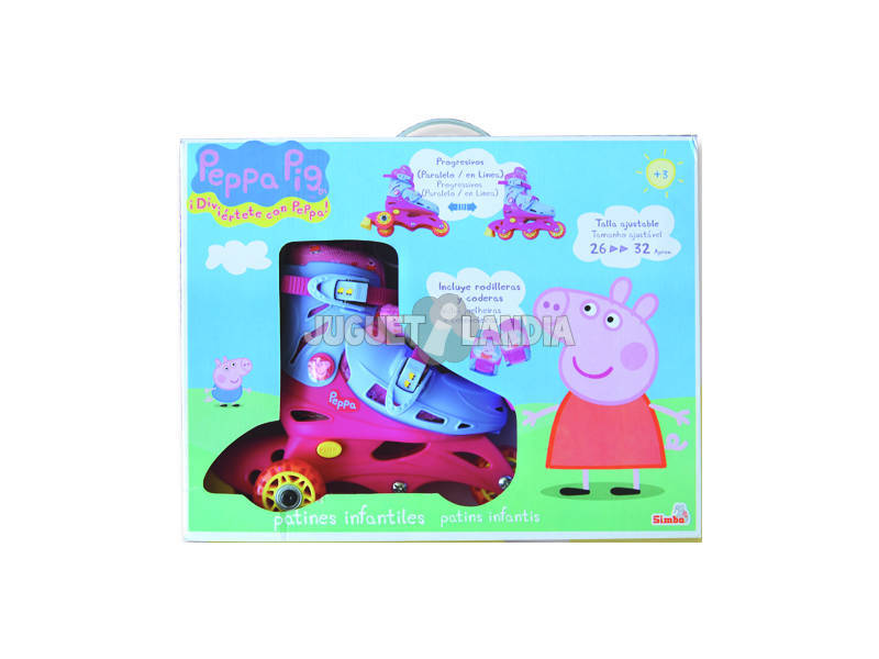 Peppa Pig patins taille 26-32