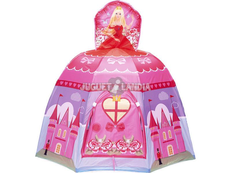 Casinha tecido Princesa + 100 Bolas 7 cm.