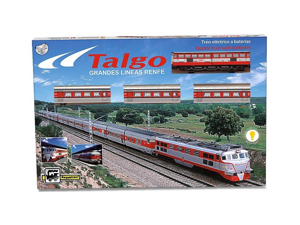 Tren Talgo A Escala Pequetren 508