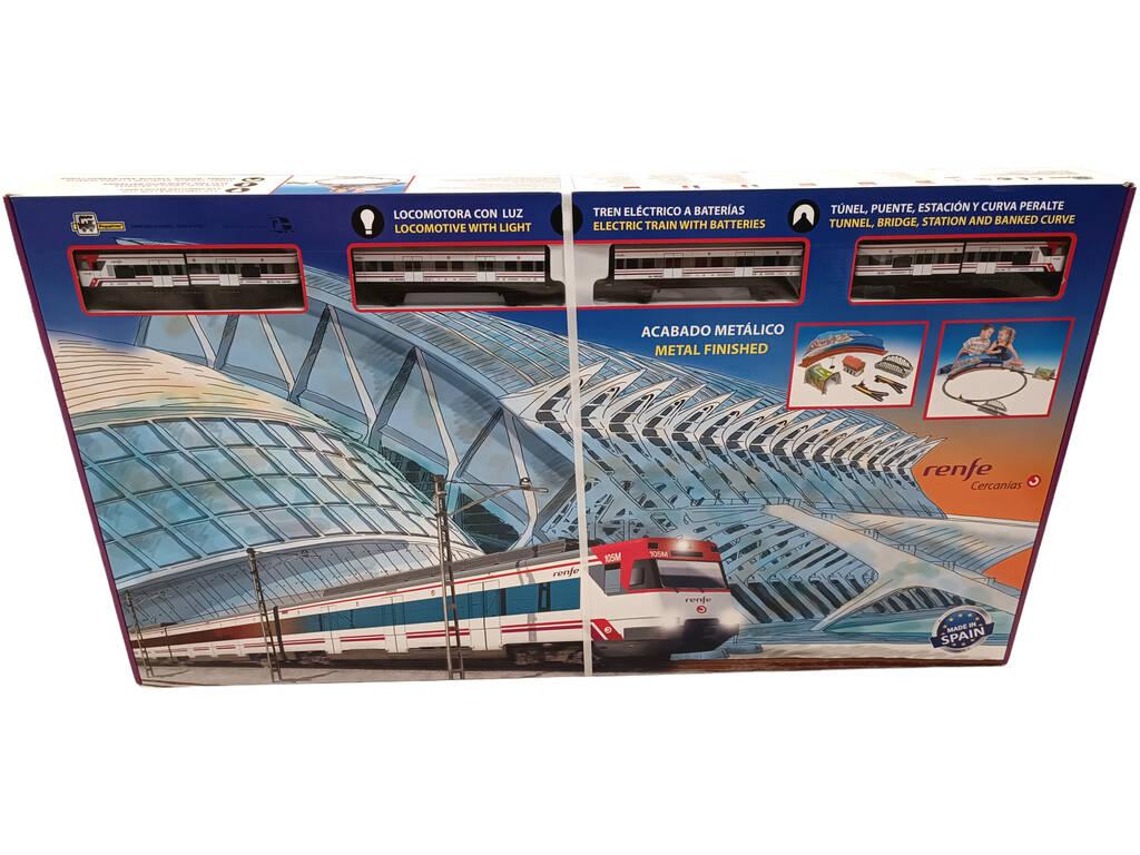 Tren De Cercanías Renfe Metálico Pequetren 680