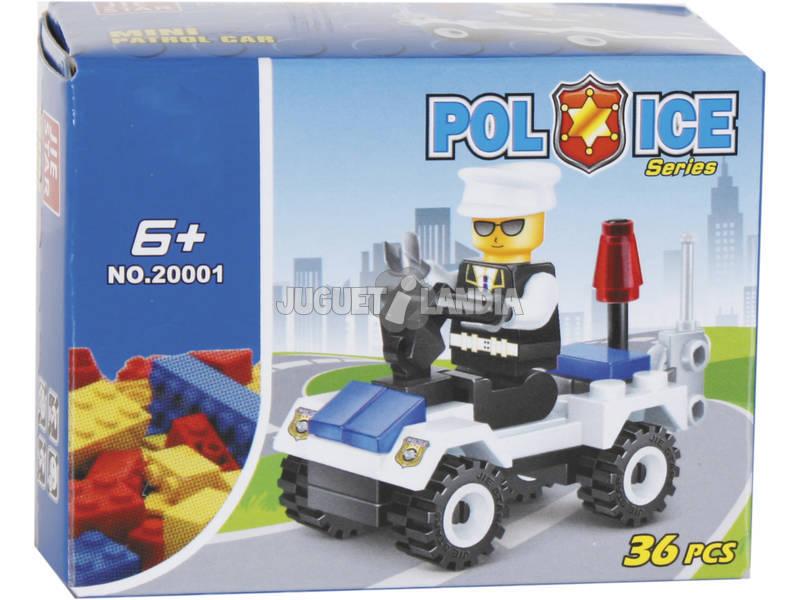 Juego de Construcción Coche de Policia 29 Piezas