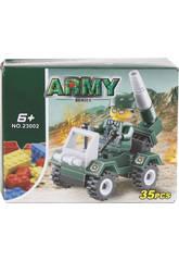 imagen Coche Militar con Lanzacohetes de 35 piezas