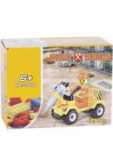 imagen Vehículo Construcción con Perforadora 35 piezas