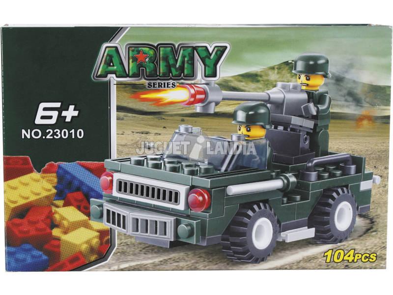Veicolo Militare con Mitragliatrice 104 pezzi
