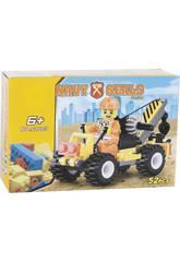 Vehiculo Costruccion con Grua 52 piezas