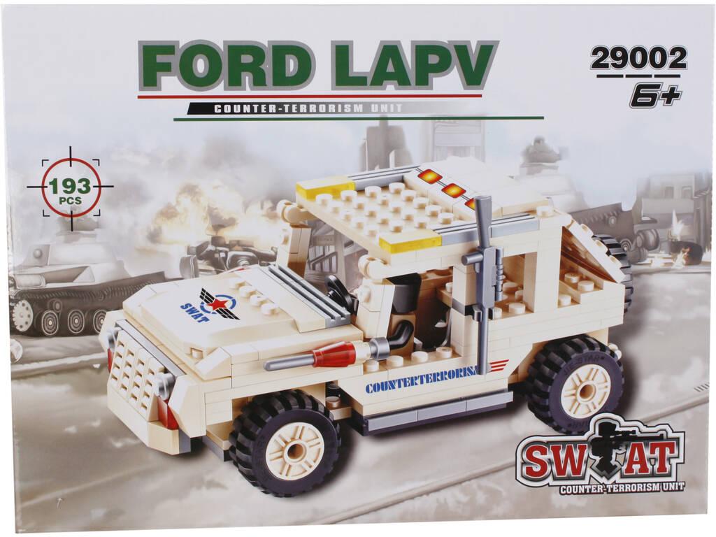 Juego de Construcción Vehículo Militar LAPV 193 Piezas