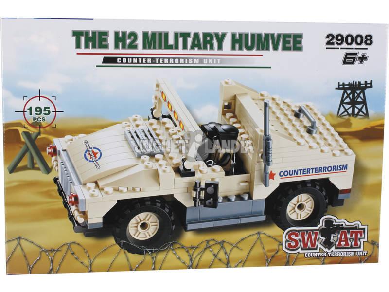 Veicolo Militare Humvee 195 pezzi