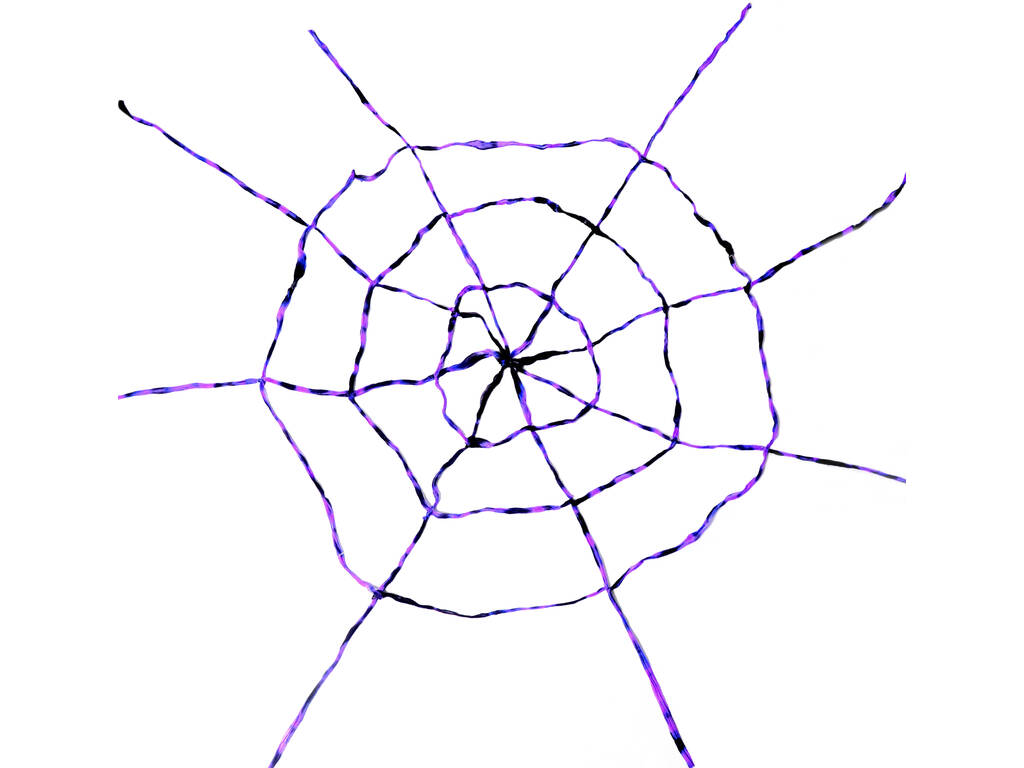 Ragnatela Lilla-Nera 150 X 150 cm.