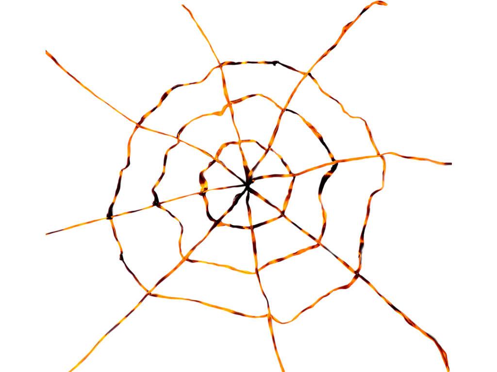 Tela de Aranha Laranja - Negra 150x150 cm.