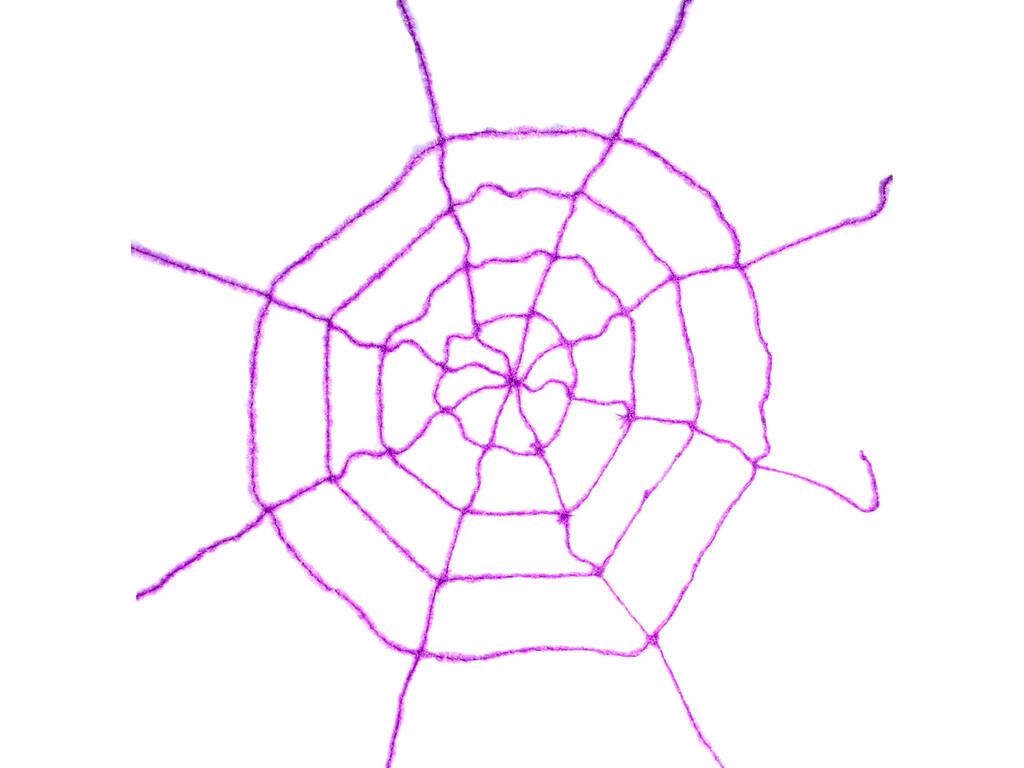 Teia de Aranha Púrpura 200x200 cm.