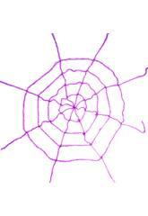 Tela de araña Purpura 200x200 cm.