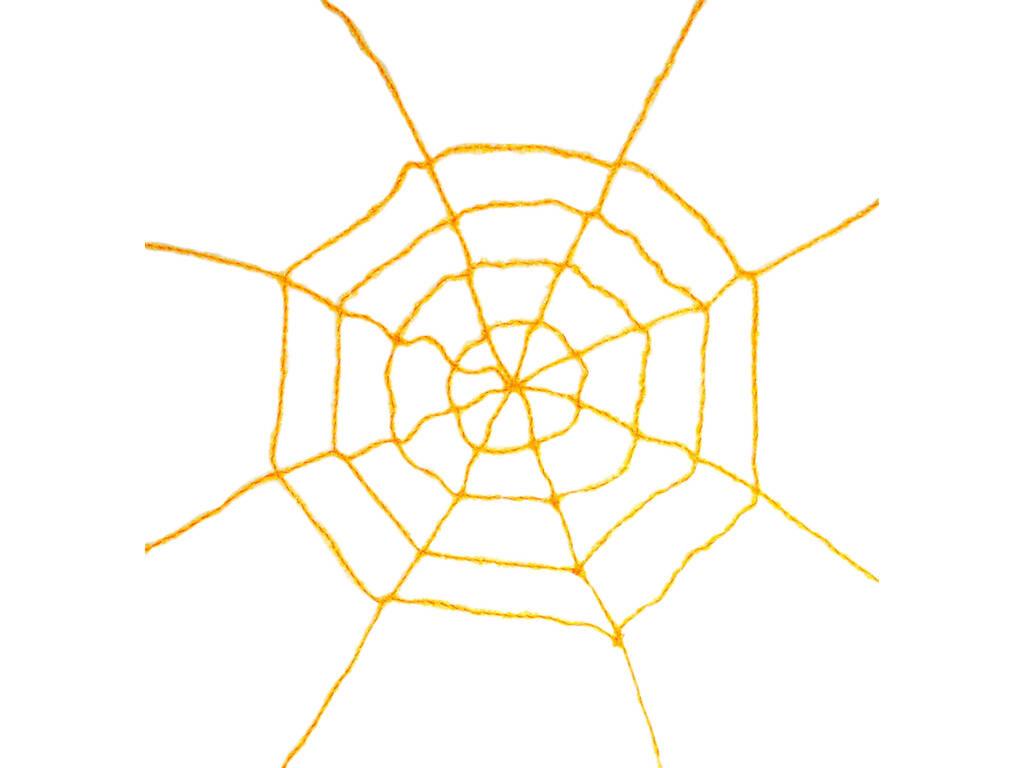 Teia de Araha Amarela 200x200 cm.