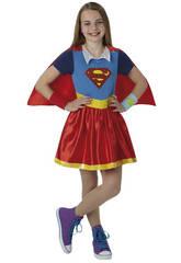 Déguisement Fille Super Girl Deluxe T-M