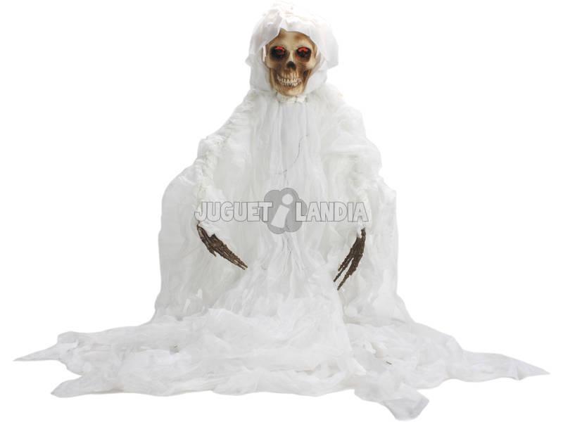 Esqueleto Fantasma Colgado 160 cm. Con Luz