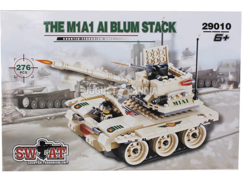 Juego de Construcción Tanque Militar 276 Piezas