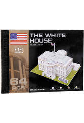 Puzzle 3D Casa Blanca 64 piezas