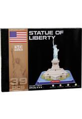 Puzzle 3D Estatua de la Libertad 39 piezas