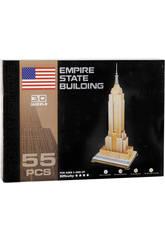 Puzzle 3D Empire State 55 piezas