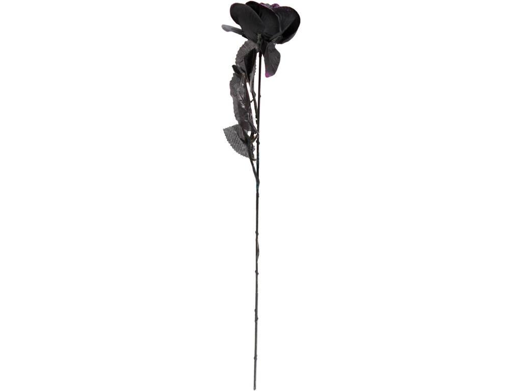 Rosa Negra Con Purpura 41 cm.