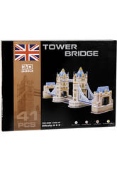 Puzzle 3D Tower Bridge 41 piezas