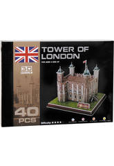 Puzzle 3D Tower of London 40 piezas