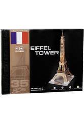 Puzzle 3D Torre Eiffel 35 piezas