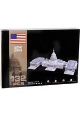 Puzzle 3D El Capitolio 132 piezas
