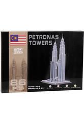 Puzzle 3D Tours Petronas 86 Pièces
