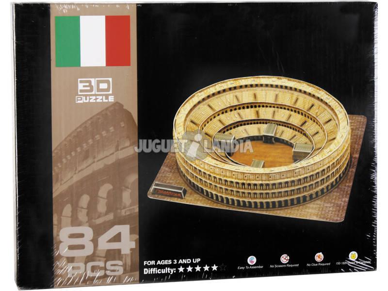Puzzle 3D Coliseo Romano 84 piezas