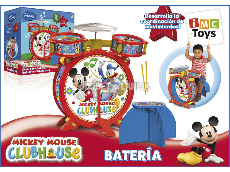 Mickey mouse bateria