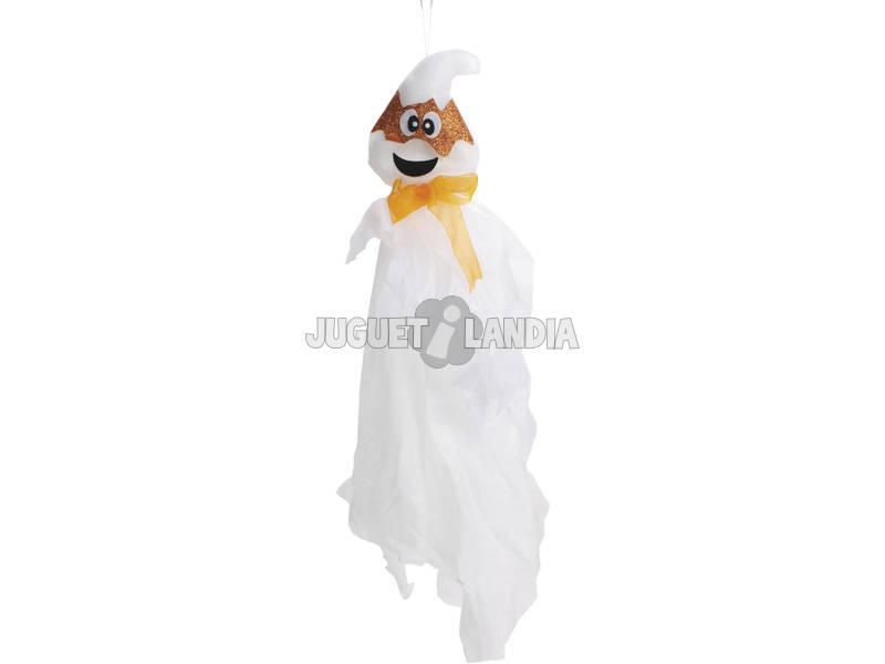 Fantasma Suspenso com Máscara Laranja 13x80 cm.