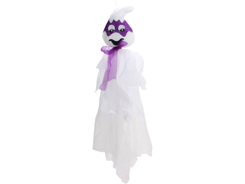 Fantasma Da Appendere Con Maschera Porpora 13 x 80 cm.