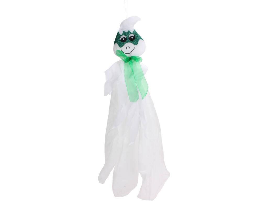 Fantasma Suspenso com Máscara Verde 13x80 cm.