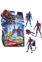 Spiderman figuras de accion 9 cm.