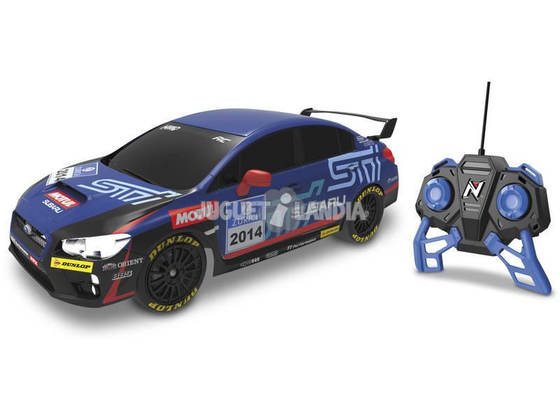 Rádio Controlo 1:16 Subaru WRX ST