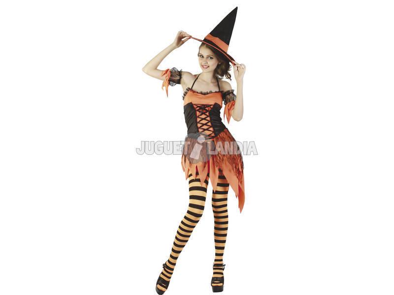 Costume Strega Halloween Donna XL