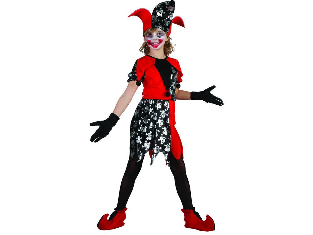 Costume Clown Malvagio Ragazza XL