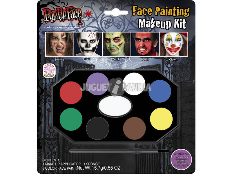Maquilhagem Facial Halloween
