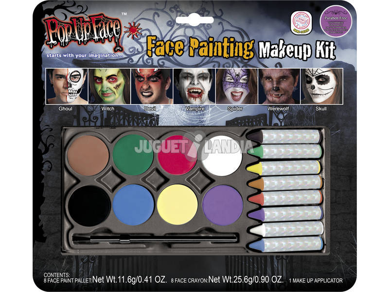 Face Painting colori a cera