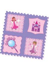imagen Set Eva Puzzle Princesas 4 Piezas
