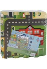 imagen Tappeto Puzzle in Schiuma EVA 9 pezzi Città