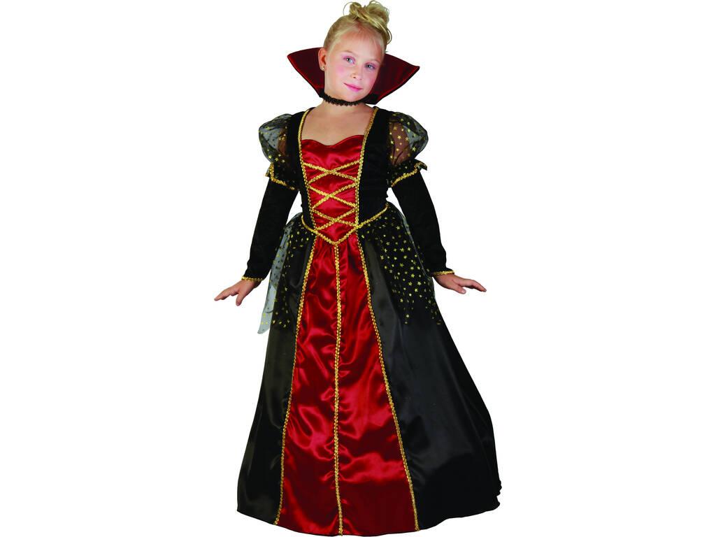 Disfraz Vampira Gotica de Niña Talla M
