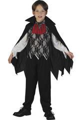 Déguisement de vampire avec cape pour garçon taille L