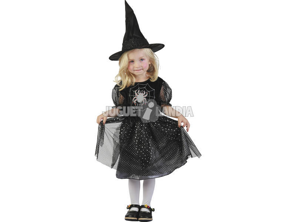 Disfraz Bruja Araña Bebé Talla M