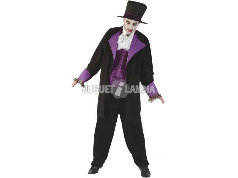 Fantasia Vampiro Duque Homem Tamanho XL